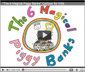 The 6 Magical Piggy Banks Cartoon